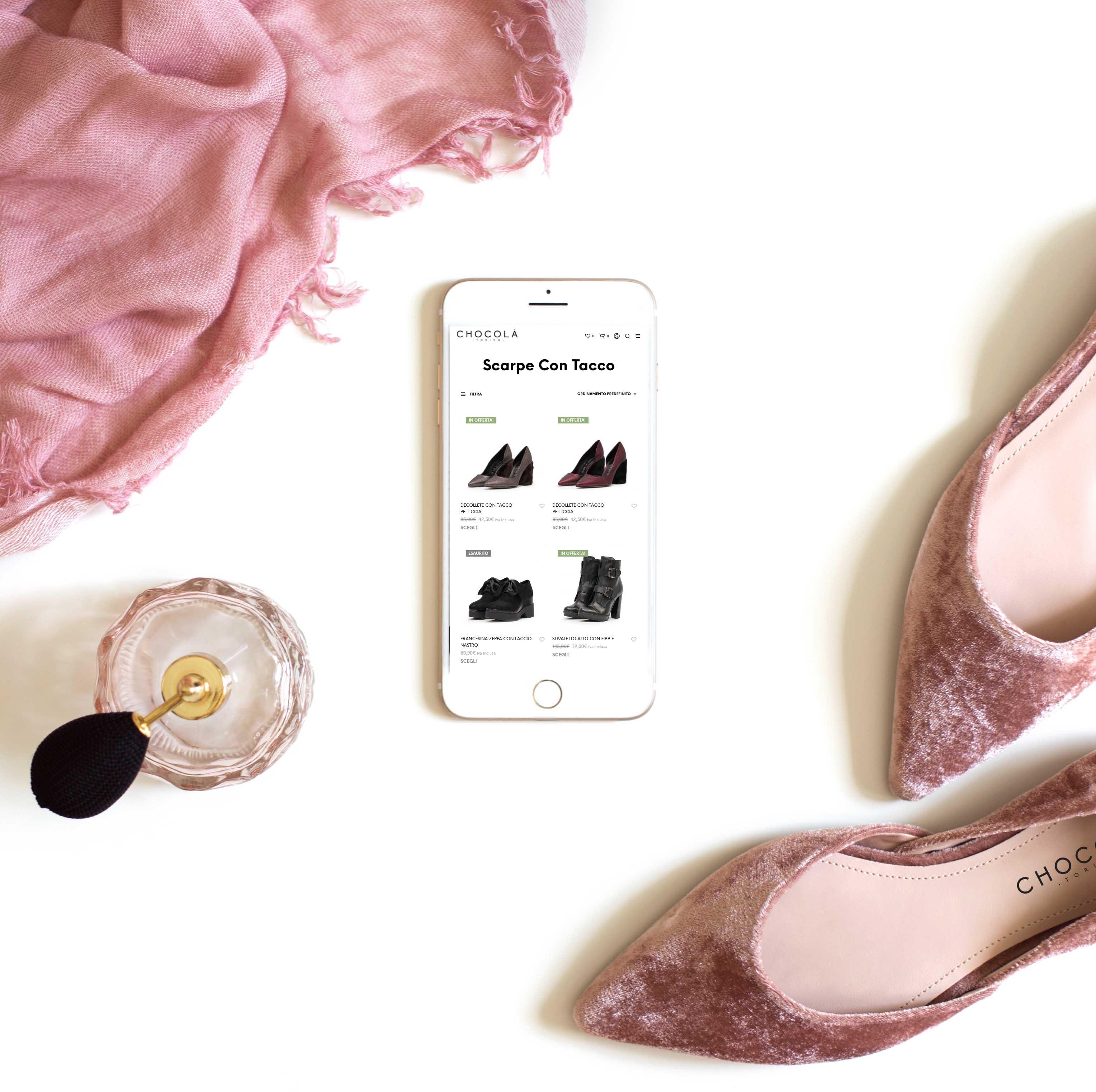realizzazione sito e commerce scarpe